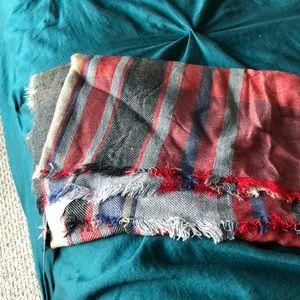 BP flannel scarf